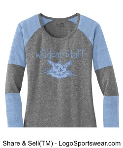Retro Wildcat Baseball Shirt Design Zoom